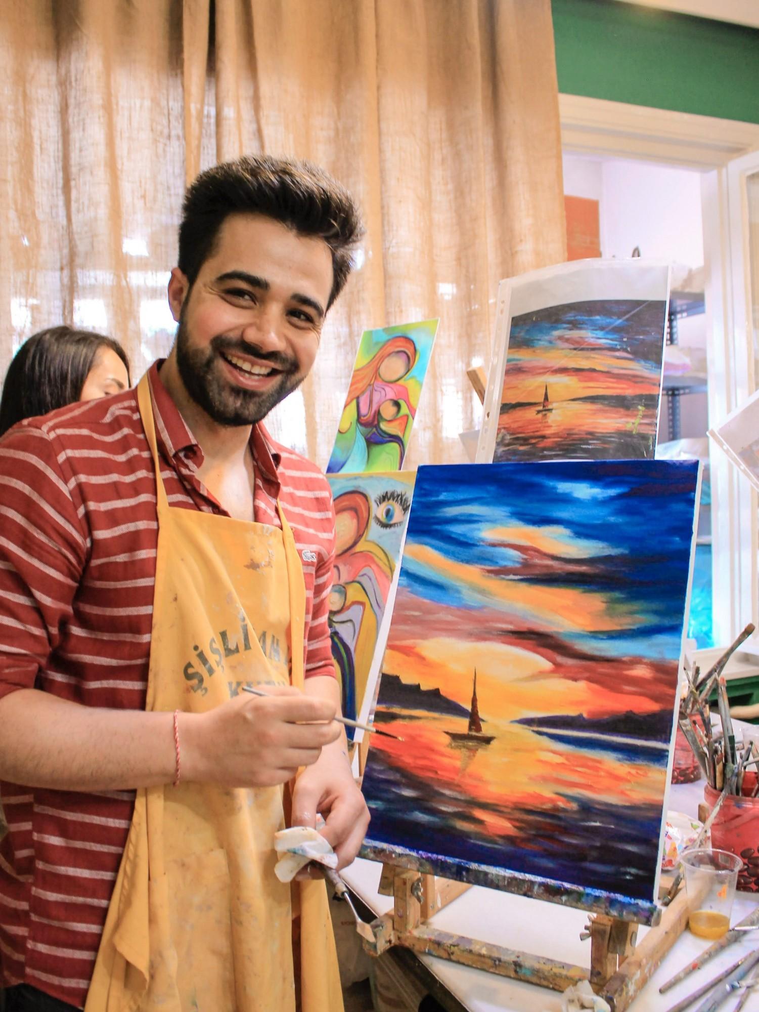 Soyut Resim Workshop